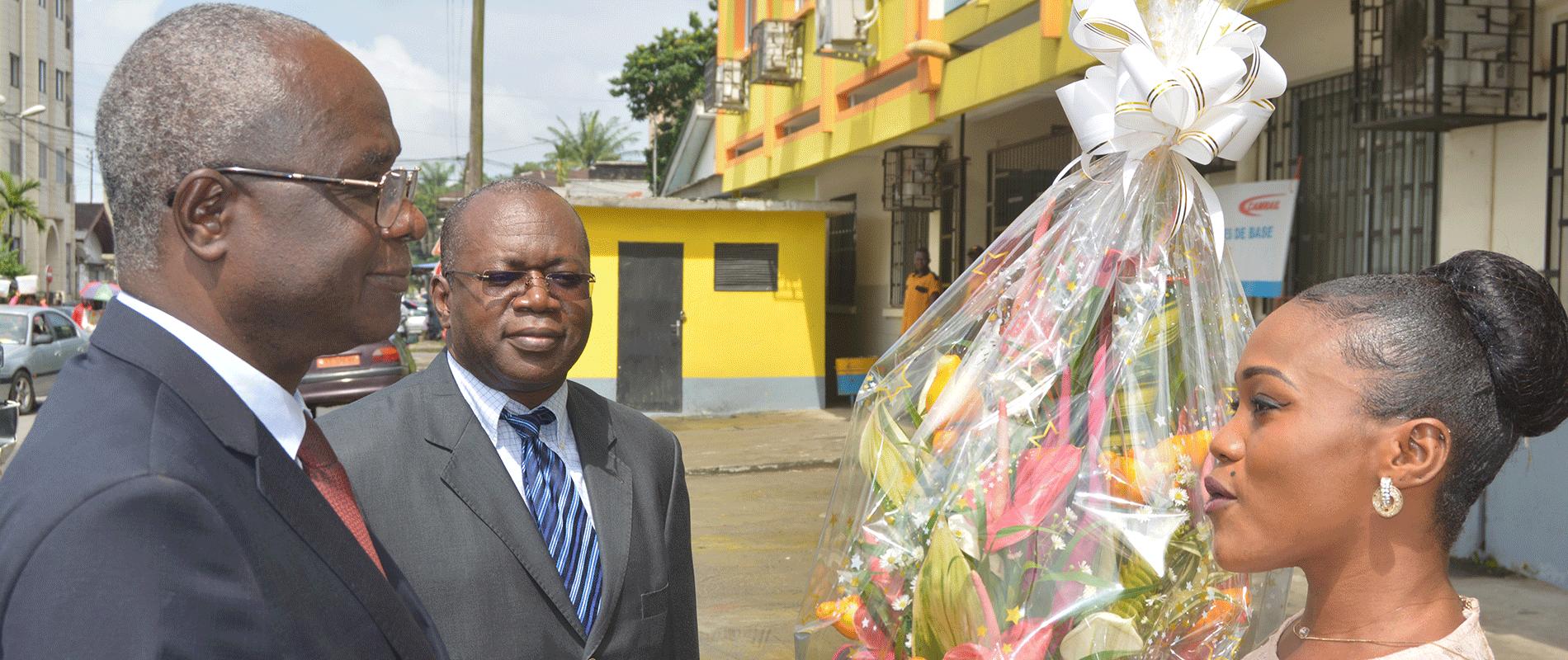 Visite du Ministre de Tutelle