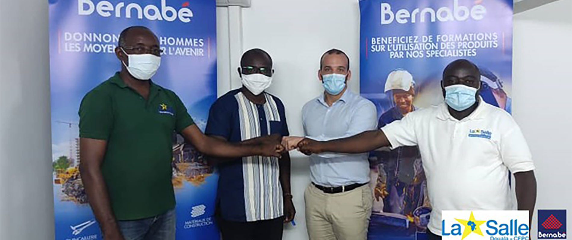 Signature de Partenariat entre Bernabé Cameroun et le Complexe La Salle Douala